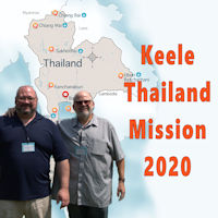 Keele Mission Trip to Thailand